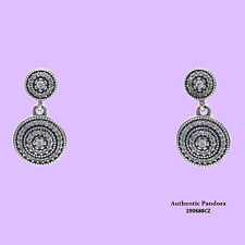 Authentic PANDORA Radiant Elegance Dangle Earrings 290688CZ