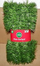 Christmas Garlands Many Types You Choose Pine Gold Tinsel Floral 10 pk Ties 190B