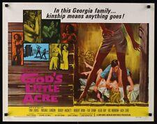 GOD'S LITTLE ACRE R67 half sheet movie poster 22x28 SEXPLOITATION TINA LOUISE