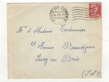 France 1 timbre sur lettre poste aux armées 1959  /L423