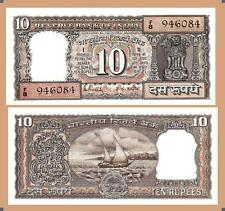 INDIA 10 RUPEES 1985 UNC 2 PCS CONSECUTIVE PAIR P60k  S.85 R.N.MALHOTRA LETTER F