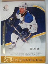 2008-09 UPPER DECK SP AUTHENTIC KEITH TKACHUK # 133 , BLUES  !! BOX 7