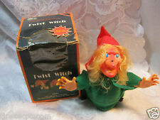 Twist Witch Vintage Halloween battery operated rare Novelty rare Toy  Winny