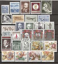 Österreich 1968 Kompletter Jahrgang Postfrisch ** MNH