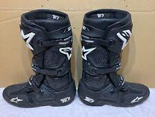 Alpinestars Tech 10 Black Motocross Boots **VERY GOOD CONDITION** Size Uk 12