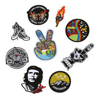 Embroidery Patches Sew On Iron On Badge Applique Bag Craft Sticker Transfer DIY#