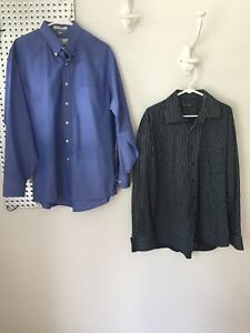 Men's 16 1/2 34 35 Andrew Fezza Shirt