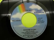 """The Who success story / squeeze box - 45 Record Vinyl Album 7"""""""