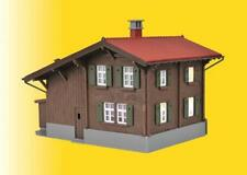 Kibri Kit 39493 NEW HO STATION DAVOS MONSTEIN INCL. HOUSE ILLUMINATION START SE