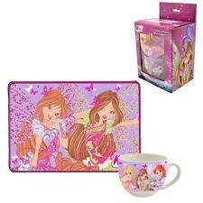 Winx Club - Tasse Porzellan & Platzdeckchen in Geschenkpackung