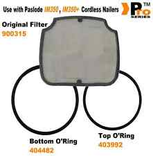 Original Filter + Replacement IM350 o'ring top fan 403992 / bottom 404482