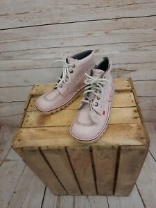 """Kickers boots """"Pearl"""" pink size 7"""