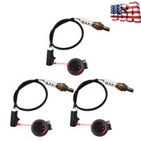 3pcs Oxygen O2 Sensor Upstream&Downstream For 1997-2000 Ford Ranger V6 4.0L 3.0L