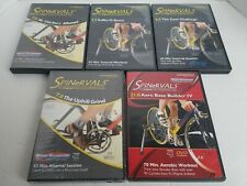 5 DVD LOT: Spinervals Competition Series 1.0, 3.0, 6.0, 7.0 & 21.0