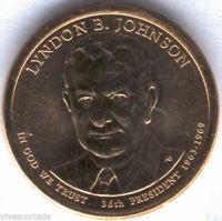 U.S.A. 1 Dolar Lyndon B. Johnson 2015 D @ PRESIDENTE Nº 36 @