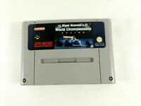 Jeu Super Nintendo SNES loose Nigel Mansell's World Championship FAH Envoi suivi