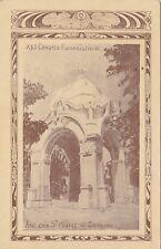 Arc Coin St Hubert & Cherrier Congrès Eucharistique MONTREAL QC 1910 Illustrated
