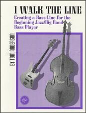I WALK THE LINE créant Jazz Bass Lines SHEET MUSIC BOOK double Tom Anderson