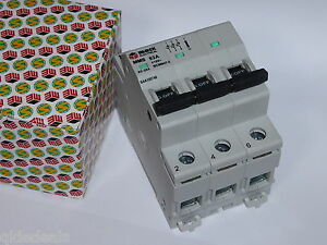 2 X 3 PHASE MAIN SWITCH 63A 240V 415V DIN 3 POLE SAA SWITCHBOARD INDUSTRIAL