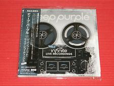 DEEP PURPLE THE INFINITE LIVE RECORDINGS VOL. 1 JAPAN MINI LP 2 CD SET
