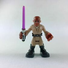 Playskool Star Wars Galactic Heroes Jedi Force Mace Windu Action Figure