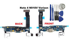 USB Charger Charging Port MIC Flex Cable for Samsung Galaxy Note 4 N910V Tools