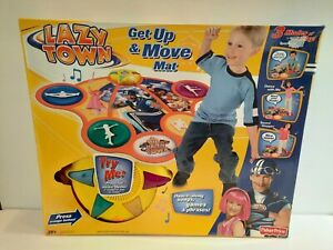 Fisher Price Lazy Town Get Up & Move Mat Musical Dance Game 2005 Music Songs