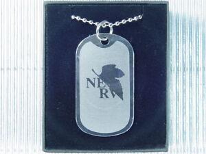 Neon Genesis Evangelion NERV Dog Tag Necklace