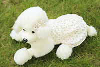 MINI Poodle Dog Toys Plush With Flower Skirt 13'' Cute Animal Stuffed Doll Gifts