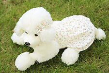 Poodle Toy Dog Stuffed Poodle Toy Doll Animal Plush Soft Puppy Gift Lovely Cute