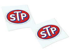 STP OIL Classic Retro Car Motorcycle Decals Stickers