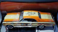1/18 HIGHWAY 61 1966 PONTIAC GTO DRAG CAR SIGNED