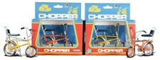 CHOPPER MK1  DIE-CAST 1:12 scale 2 MODEL RALEIGH BICYCLES YELLOW +ORANG  TW41600