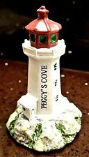 """""""PEGGY'S COVE LIGHT HOUSE"""" NOVA SCOTIA CANADA MODEL BUILDING REPLICA SOUVENIR"""