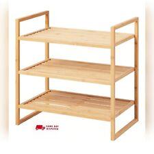 Ikea Ragrund Shelving Unit Bamboo 50X50cm
