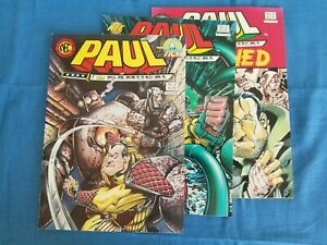 Paul the Samurai (1990 series) issues 1 - 3 by NEC Press (good condition)