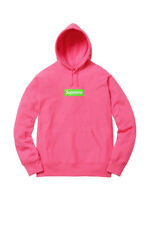 Supreme Box Logo Hooded Sweatshirt Hoodie BOGO Magenta Size XL