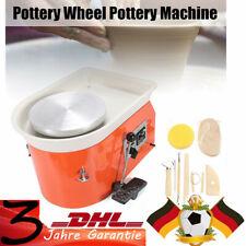 250MM 250W Électrique Tour Roue de Poterie Machine Céramique Argile Potier Art
