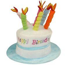 Kinder blau Geburtstagstorte Hut mit Kerzen