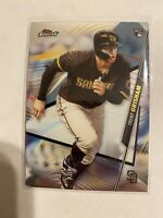 2020 Topps Finest Trent Grisham #20 Rookie RC Padres