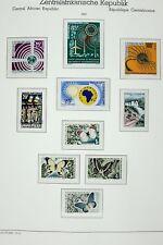 Zentralafrika 1963-1972 Top-Sammlung Postfrisch Falzlos-Blätter Collection MNH