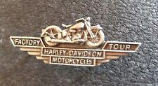 HARLEY DAVIDSON PIN Factory Tour 48x15mm Motard MC Rocker Chopper NO RESERVE
