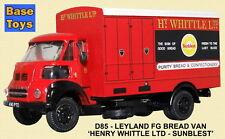 B-T Modelos Diecast Leyland FG apasionadamente panadería 'Sunblest' 1:76 Nuevo