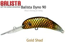 Balista LED Technology Dyno 60mm Flashing Fishing Cod Barra Lure Gold Shad