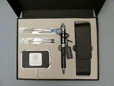 Odyssey Sévigné Pen Set – Onyx Black and Prussian Blue