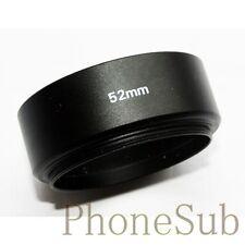 Emolux 52mm Metal Lens Hood for Canon/Nikon 50mm f1.8