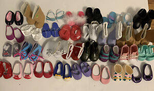 Huge Lot Doll Shoes from Our Generation American Girl And More