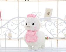 WM White Arpakasso Alpaca Plush Toy Cafe Maids 45cm