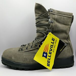 Belleville 675 ST Sz 6.5 R Gore Tex Cold Weather Steel Toe Insulated Boots Gray