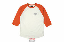 BRIXTON BORREGO 3/4 ARM RAGLAN SHIRT NEU BURNT ORANGE GR:M BRIXTON SUPPLY CO
